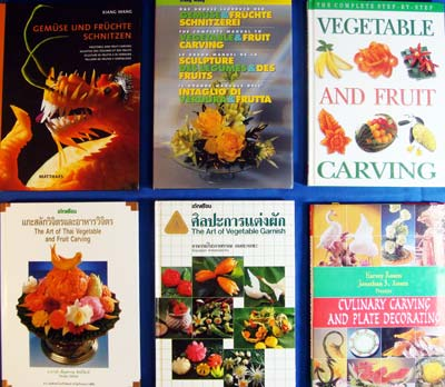 fruit veg carving books 11