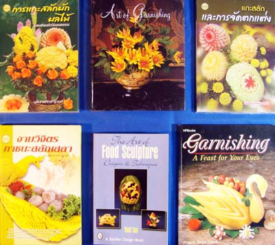 veggie carving books