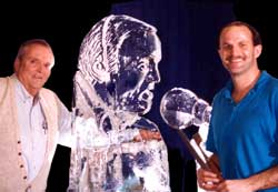 bruce williams ice sculpture