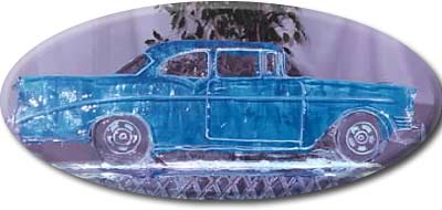 chevy ice sculpture